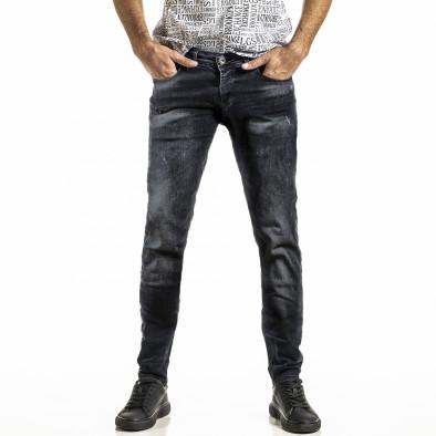 Ανδρικό μαύρο τζιν Franco Benussi tr030420-6 3