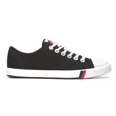 Ανδρικά μαύρα sneakers Max&Li it210415-15 2