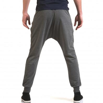 Ανδρικό γκρι παντελόνι jogger Belmode it090216-41 3