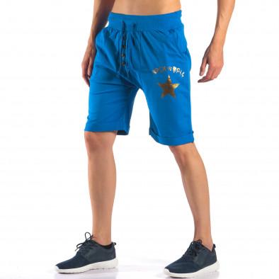 Ανδρικά γαλάζια σορτς  Black Fox it160616-15 4