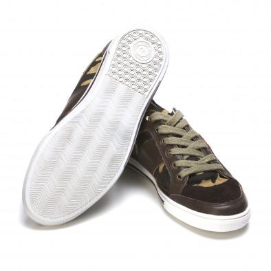 Ανδρικά πράσινα sneakers Staka It050216-14 4