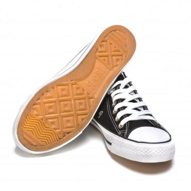 Ανδρικά μαύρα sneakers Dilen It050216-1 4