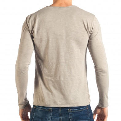 Ανδρική γκρι μπλούζα Y-Two it301017-95 3
