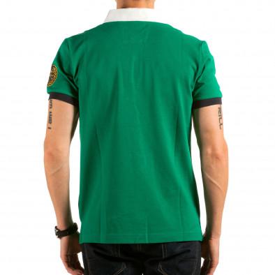 Ανδρική πράσινη πολο Ar-Ma il180215-120 3
