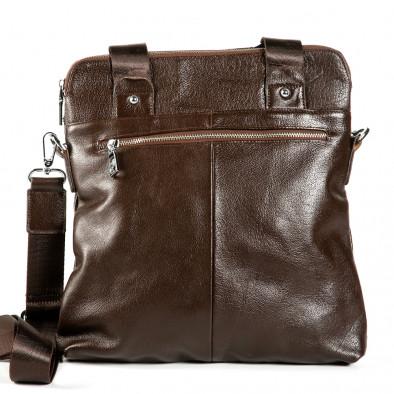 Ανδρικό καφέ τσαντες Fashionmix 1182-brown 3