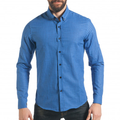836017ddefcc Ανδρικό γαλάζιο πουκάμισο Mario Puzo tsf220218-2 - Fashionmix.gr