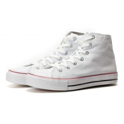 Ανδρικά λευκά sneakers Bella Comoda it260117-44 3