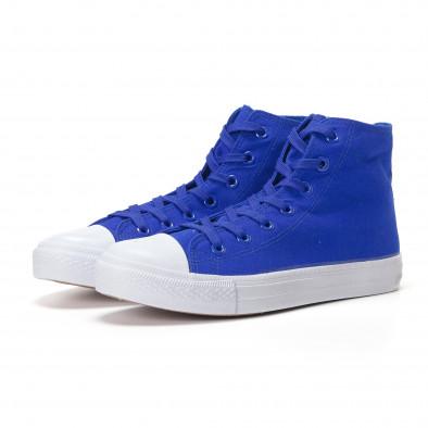 Ανδρικά γαλάζια sneakers Bella Comoda it250118-5 3
