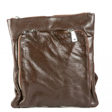 Ανδρικό καφέ τσαντες Fashionmix 1236-brown 2