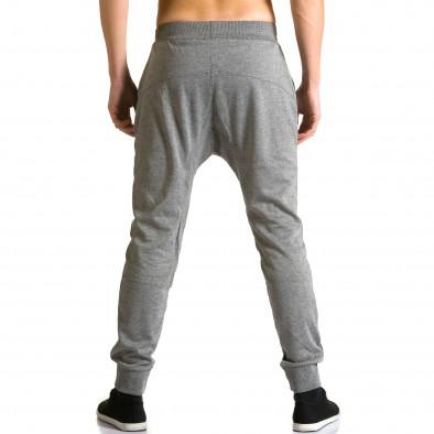 Ανδρικό γκρι παντελόνι jogger Furia Rossa ca190116-17 3