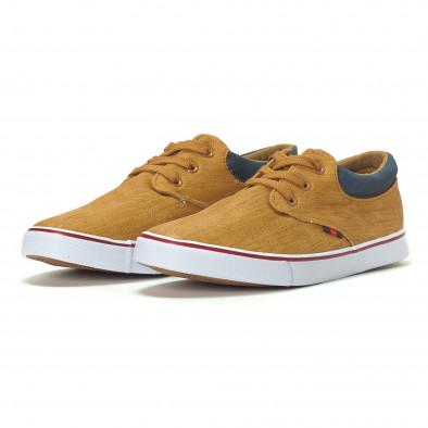 Ανδρικά sneakers σε χρώμα camel it240418-23 3