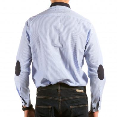Ανδρικό γαλάζιο πουκάμισο Royal Kaporal il180215-177 3