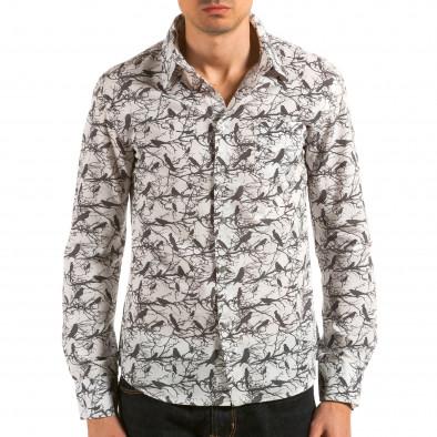 Ανδρικό λευκό πουκάμισο Catch il180215-188 3