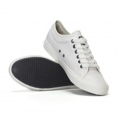 Ανδρικά λευκά basic sneakers  it240418-30 4