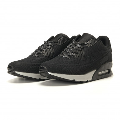 4a12fd2fe0e Ανδρικά μαύρα αθλητικά παπούτσια Jomix it260117-10 - Fashionmix.gr