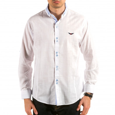 Ανδρικό λευκό πουκάμισο Royal Kaporal Royal Kaporal 4