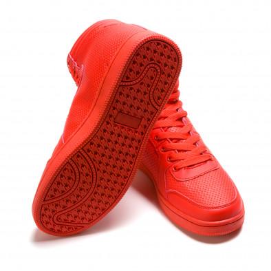 Ανδρικά κόκκινα sneakers Niadi it211015-2 4