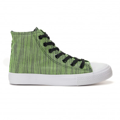 Ανδρικά πράσινα sneakers Mondo Naturale it250118-15 2