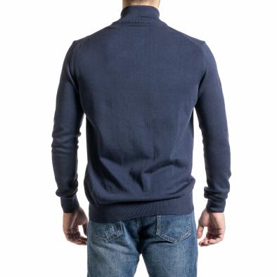 Ανδρικό γαλάζιο πουλόβερ Code Casual tr231220-7 4