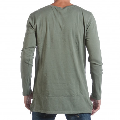 Ανδρική πράσινη μπλούζα MM Studio it160817-84 3