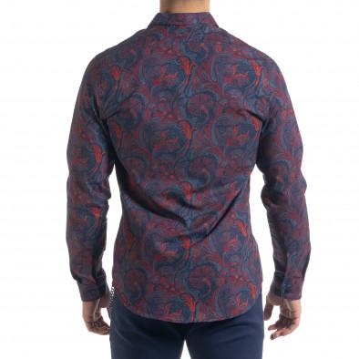 Ανδρικό πολύχρωμο πουκάμισο Open tr110320-98 3