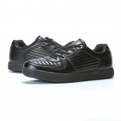 Ανδρικά μαύρα sneakers Flair it020617-7 3