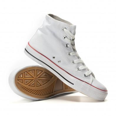 Ανδρικά λευκά sneakers Bella Comoda it260117-44 4