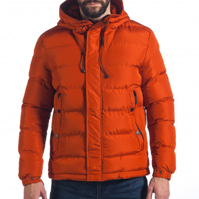 Ανδρικό πορτοκαλί χειμωνιάτικο μπουφάν Bread   Buttons it041217-3 ... 456d3398f8e