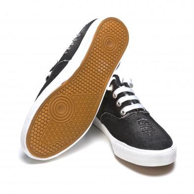 Ανδρικά μαύρα sneakers Gira Sole It050216-18 4