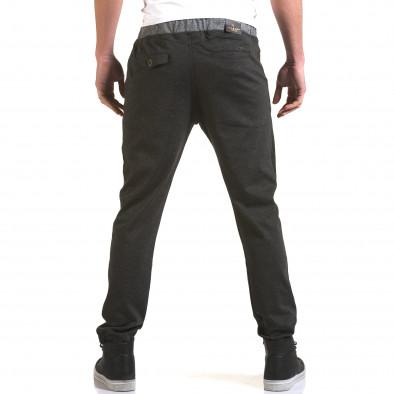 Ανδρικό γκρι παντελόνι Jack Berry it090216-31 3
