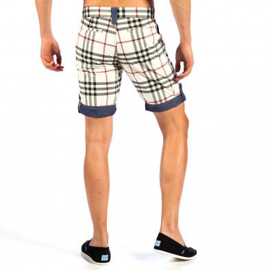 Ανδρικό πολύχρωμο βερμούδα Open Jeans il130613-1 4