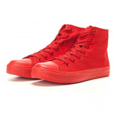Ανδρικά κόκκινα sneakers Bella Comoda it260117-37 3
