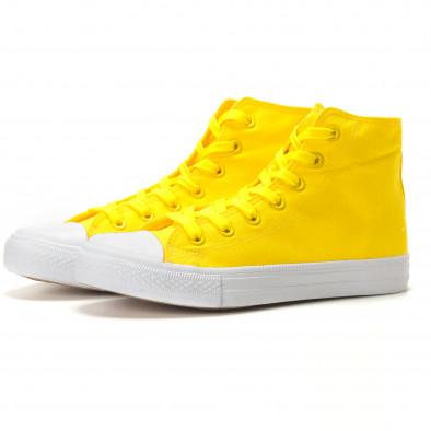 Ανδρικά κίτρινα sneakers Bella Comoda it260117-51 2