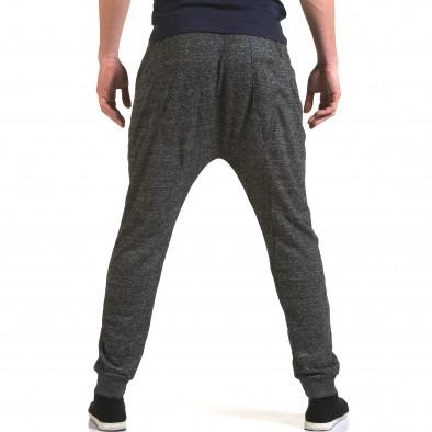 Ανδρικό γκρι παντελόνι jogger Dress&GO it090216-36 3