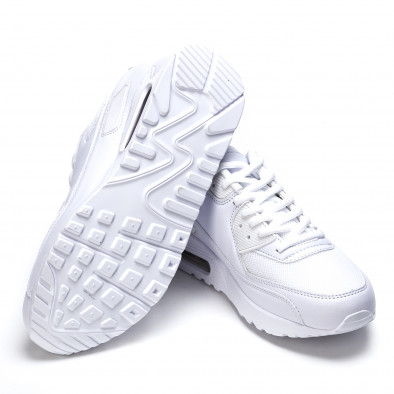 Ανδρικά λευκά αθλητικά παπούτσια Fast Lee It050216-5 4