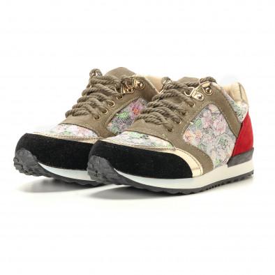 Γυναικεία πολύχρωμα αθλητικά παπούτσια R's it200917-53 3