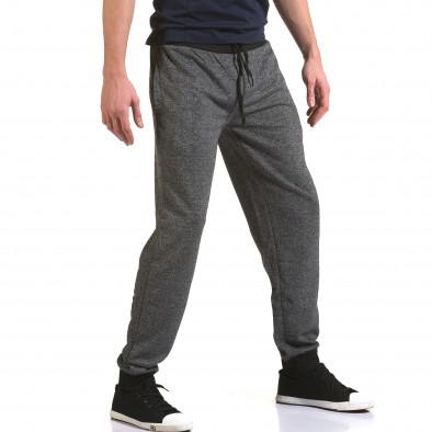 Ανδρικό γκρι παντελόνι jogger Eadae Wear it090216-52 4