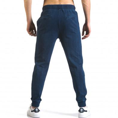 Ανδρικό γαλάζιο παντελόνι jogger Enos it090216-58 3
