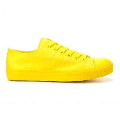 Ανδρικά κίτρινα sneakers Bella Comoda it260117-39 2