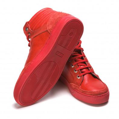 Ανδρικά κόκκινα sneakers Martin Pescatore It050216-4 4