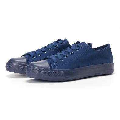 Ανδρικά γαλάζια sneakers Bella Comoda it250118-3 3