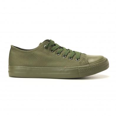 Ανδρικά πράσινα sneakers Osly it260117-33 2