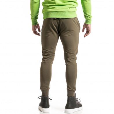 Ανδρική πράσινη φόρμα Breezy it261120-5 4