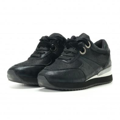 Γυναικεία μαύρα αθλητικά παπούτσια Melissa it200917-24 3