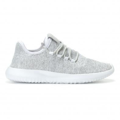 Ανδρικά λευκά αθλητικά παπούτσια Kiss GoGo it110817-71 2