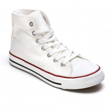 Ανδρικά λευκά sneakers Dilen it170315-9 3