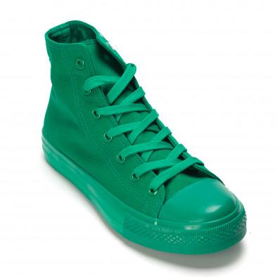 Ανδρικά πράσινα sneakers Bella Comoda it090616-32 3