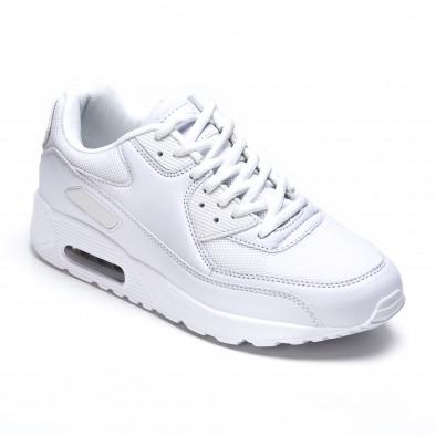 Ανδρικά λευκά αθλητικά παπούτσια Fast Lee It050216-5 3