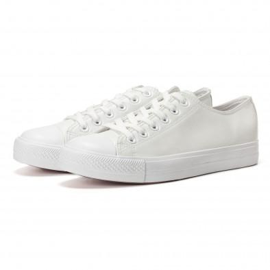 Ανδρικά λευκά sneakers Bella Comoda it250118-4 3