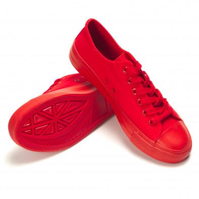 Ανδρικά κόκκινα sneakers Bella Comoda it260117-38 4